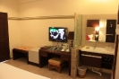 Deluxe Room TV and Handwash View